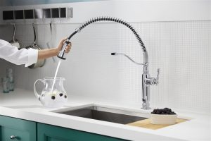 clean kitchen sink - home inspection seattle