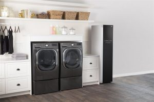 clean and organized laundry area - home inspection seattle