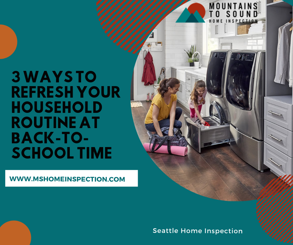 household routine at back to school time