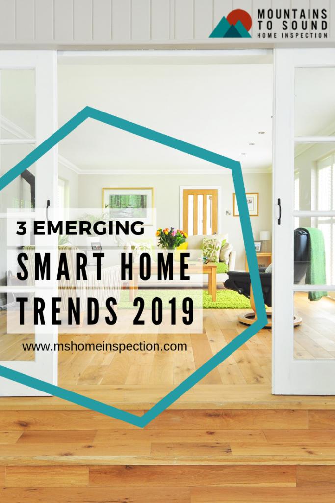 Smart home trends 2019