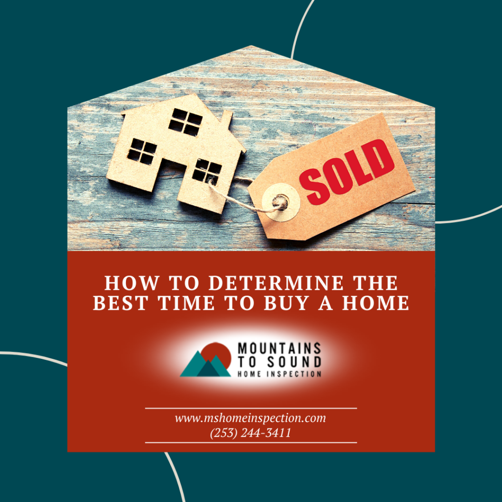 Mountains to Sound Home Inspection How to Determine the Best Time to Buy a Home